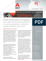 Libya Business Weekly - Issue 1 - 18.01.2013