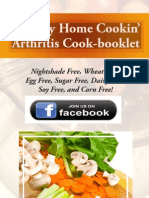 Mini-Cookbook For Those With Arthritis