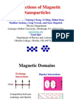 Interactions of Magnetic