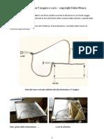 Descrizione di un esperimento di eolotropia nei cavi