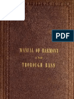 Parker. Manual of Harmony