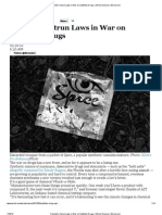 Chemists Outrun Laws in War on Synthetic Drugs
