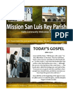 Mission San Luis Rey Parish Bulletin 1-20-2013
