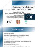 Molecular Dynamics Simulations of