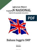 Rangkuman Materi UN Bahasa Inggris SMP 2013.pdf