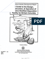 A guide to the design, construction, & operation of a bivalve shellfish depuration facility