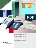 Siemens HiPath 3000 V6 Service Manual