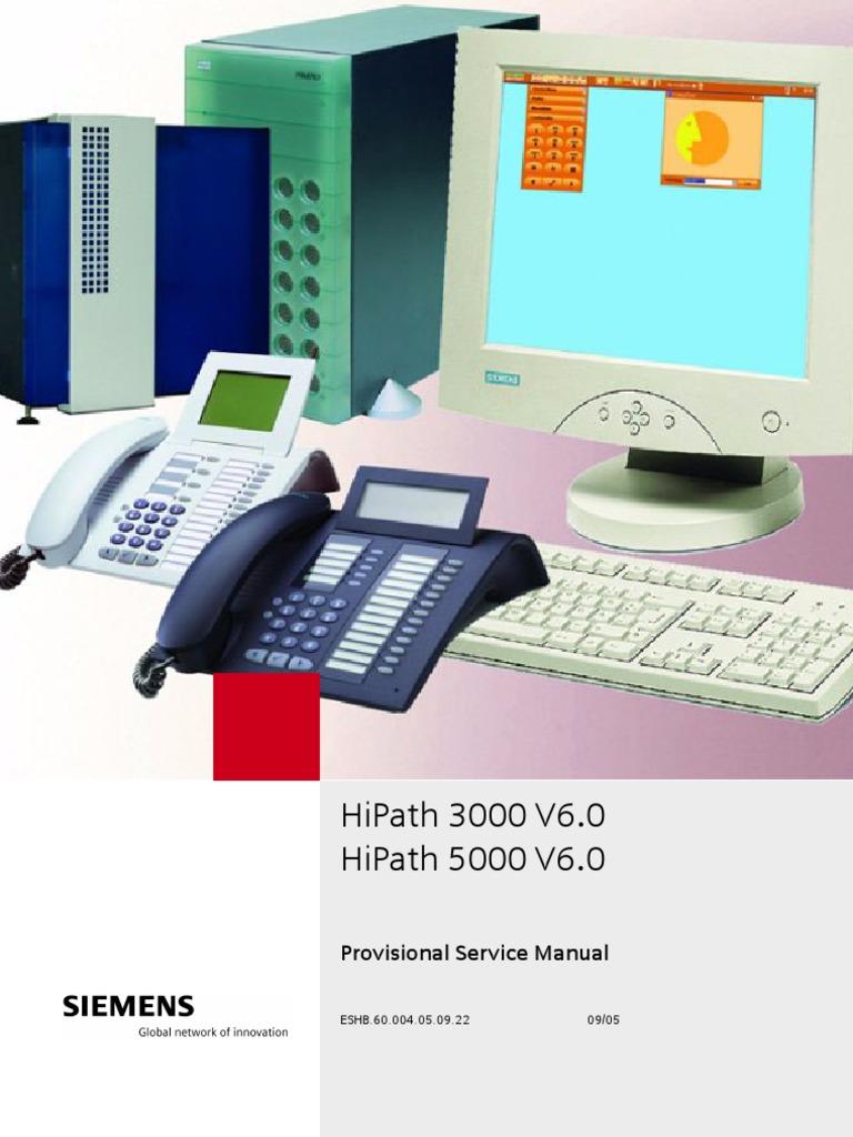 Siemens HiPath 3000 V6 Service Manual   Virtual Private Network   Computer  Network