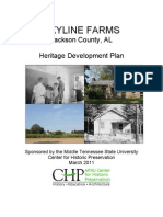 Skyline Farms Heritage Development Plan