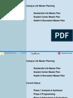 Campus Life Master Planning