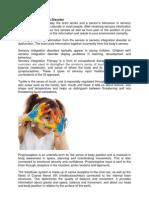 Sensory Integration Disorder