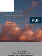 A Year of Writing Inspiration creative writing prompts