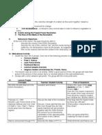 Lesson Plan EDSA Revolution