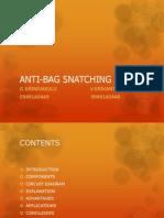 anti bag snatching alarm