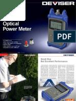 DEVISER  AE 120 Optical  Power Meter