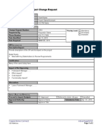 CCI Change Request Form