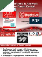 Syndrome Darah Kental