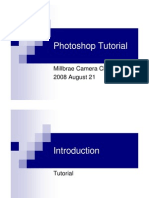 Photoshop Tutorial Session 2