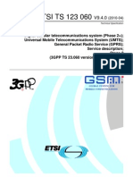 GPRS Architecture Standard