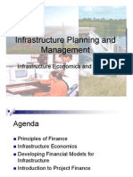 Infrastructure Economics and Finance
