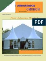 Christ Ambassadors Newsflash