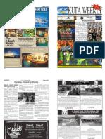 "Kuta Weekly-Edition 319 ""Bali""s Premier Weekly Newspaper"""