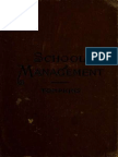 The Philosophy of School Management