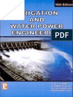 Irrigation and Water Power Engineering by Dr. b. c. Punmia- Dr. Pande Brij Basi Lal- Ashok Kumar Jain- Arun Kumar Jain
