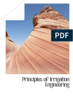 Principles of Irrigation Engineering (292-346)