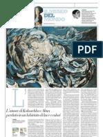 IL MUSEO DEL MONDO 4 - La Sposa Del Vento Di Oskar Kokoschka (1914) - Repubblica 20.01.2013