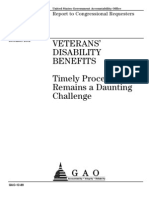 GAO Timely Processing Claims 01 18 2013