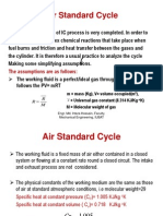Different type of air standard ( otto and diesel cycle)