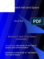 Edward Hall and Space