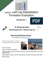 Oslo - Porosity Logs | Porosity | Neutron