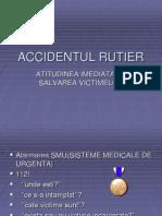 ACCIDENTUL RUTIER