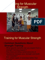 3 Training for Muscular Strength 1 5 1 2