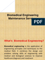 Biomedical Engineering Maintenance Services - Presentation 1