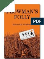 Edward Faulkner - Nebunia aratului - TEI