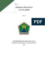 Pedoman Penulisan Tugas Akhir POLTEKOM Edisi Revisi 1