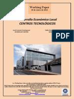 Desarrollo Económico Local. CENTROS TECNOLOGICOS (Es) Local Economic Development. TECHNOLOGY CENTERS (Es) Tokiko Ekonomi Garapena. IKERGUNEAK (Es)