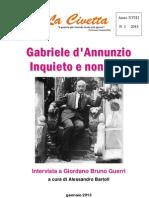 Gabriele d'Annunzio. Inquieto e non solo