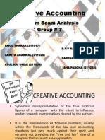 Creative Accounting - Satyam