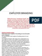 employer branding brief