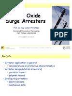 Metal Oxide Surge Arresters