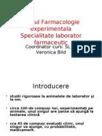 Farmacologie experimentala
