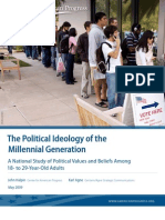 Political Ideology of the Millennial Generation May09