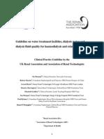 dialysis water treatment