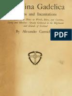 Carmina Gadelica, volume 3