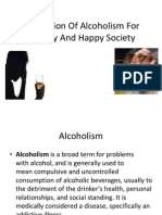 prevention of alcoholism