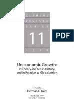 Uneconomic Growth